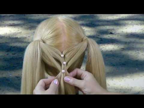 Смотреть как делать прическу из волос. Watch how to make hair from the hair