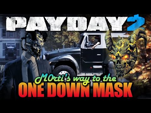 One Down - 5 Transport Heists [with Teamspeak] (Payday 2 - M0rti's way to the One Down Mask)