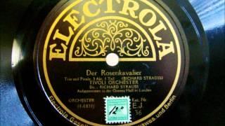 Richard Strauss cond. Tivoli Orchestra - Rosenkavalier 3. Akt 1.Teil - 1926