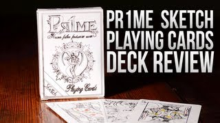 Deck Review - Pr1me Sketch playing cards