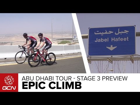 Jebel Hafeet - The Abu Dhabi Tour's Desert Mountain | GCN's Epic Climbs
