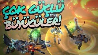 Çok Güçlü Büyücüler! | LoL Taktik Savaşları