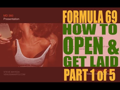 How to Open like a Venusian Artist - Formula 69 1 of 9 w/Steve Mayeda