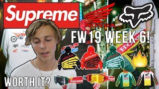 Supreme X Honda Dropping For Supreme FW19 Week 6! (Fall Winter 19)