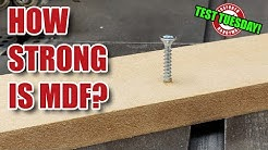 How Strong is MDF? Test Tuesday! [195]