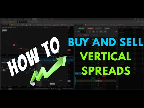 How to Buy Vertical Spreads - ThinkOrSwim Tutorial
