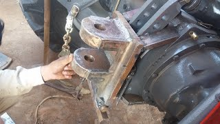 How to make a tractor hook? Tractor Bampar and Other Tractor Accessories