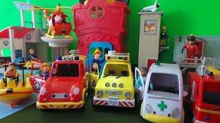 TOP 6 FIREMAN SAM Toys Inc JUPITER, HELICOPTER, 4X4 & VENUS