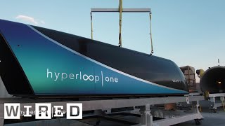 Hyperloop - Watch the Hyperloop Complete Its First Successful Test Ride | WIRED