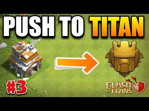 Clash Of Clans||WE GOT PROMOTED||TH7 PUSH TO TITANS