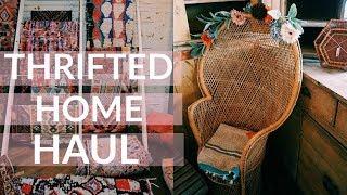Buying Thrift Store Furniture & Decor + Haul