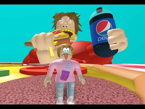Roblox Escape The Giant Fat Guy With Molly!