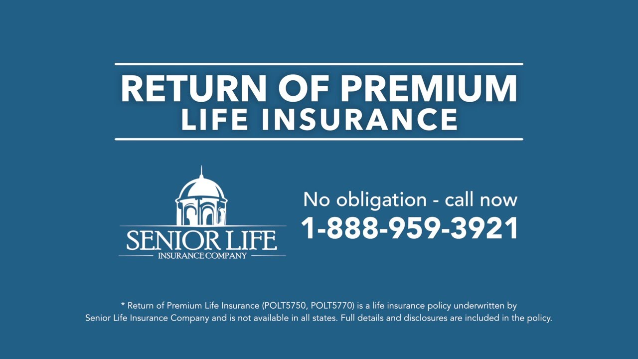 Whole Life Insurance Quotes For Seniors Return Of Premium Life Insurance  Youtube