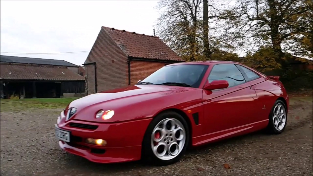 2002 alfa romeo gtv cup 3 0 v6 number 27 155 youtube. Black Bedroom Furniture Sets. Home Design Ideas