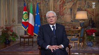 Sicurezza, manovra e unità: il discorso di fine anno di Sergio Mattarella