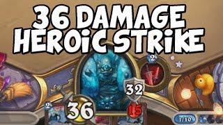 36 Damage Heroic Strike Combo