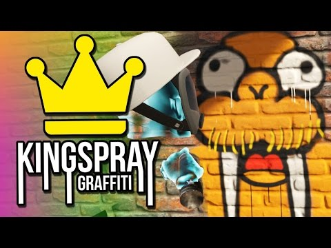 Kingspray Graffiti VR - Virtual Reality Graffiti Painting
