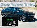 Honda Sensing Review 2018 Accord