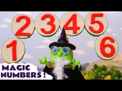 Learn Numbers with Wizard Funlings Funny Magic Spells on Thomas The Train and Cars McQueen TT4U