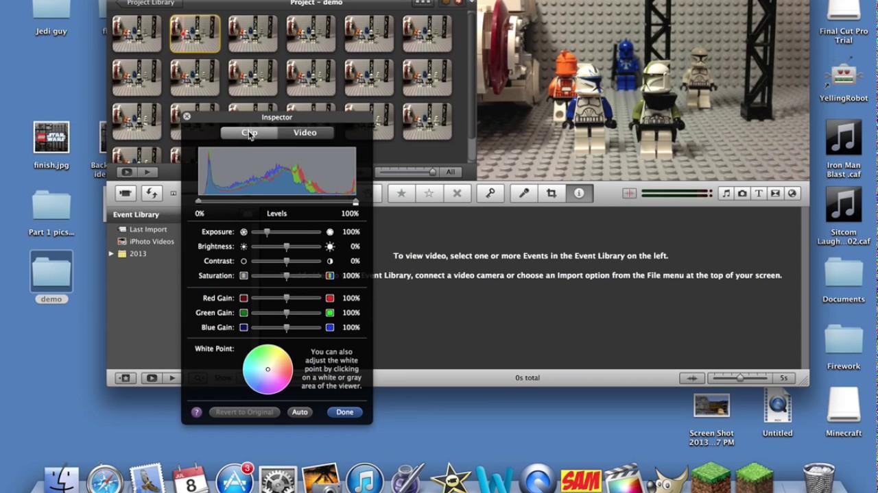 Lego stop motion tutorial: imovie green screen youtube.