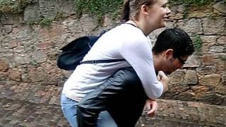 Piggy-Back Ride FAIL!!!