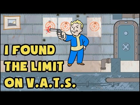 I FOUND THE LIMIT FOR V.A.T.S IN FALLOUT 4