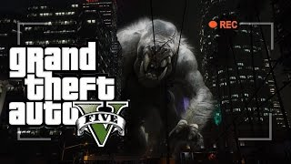 Giant Monsters Attack Los Santos - GTA V Machinima