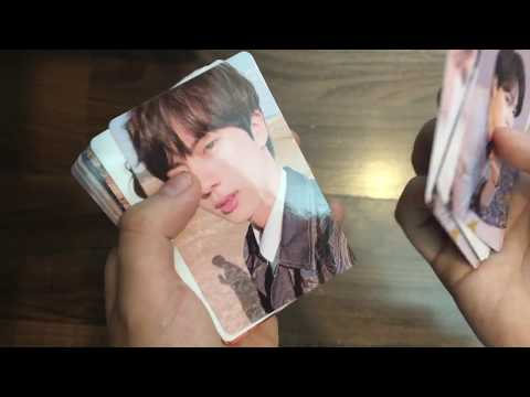 [UNBOXING OFFICIAL+TRADING CARD] BTS LOVE YOURSELF: TEAR ALBUM