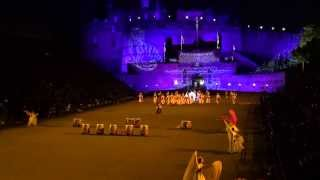 Scotland Edinburgh Tattoo Part 3 Korea Military Band and Dancers