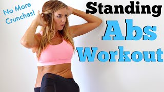 Standing Abs Workout + Fit Fashion Unboxing!