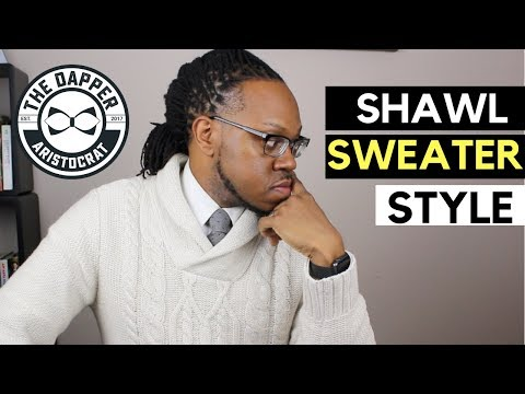 How To Style Mens Shawl Collared Sweaters