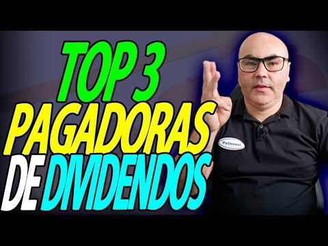 TOP 3 AÇÕES PAGADORAS DE DIVIDENDOS | QUAL É A QUE MAIS PAGA DIVIDENDOS? | PETERSON SIQUEIRA