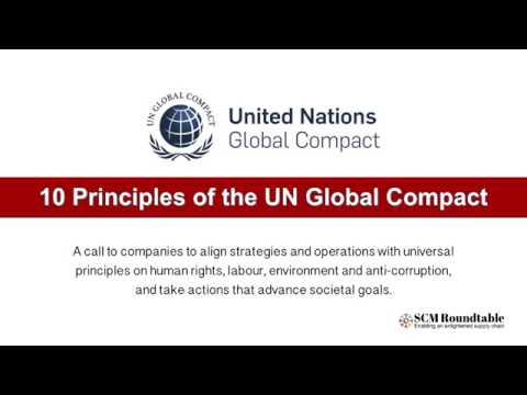 UN Global Compact 10 Principles