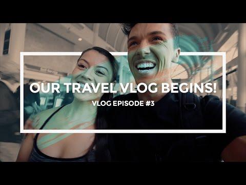 Our Travel Vlog Begins!