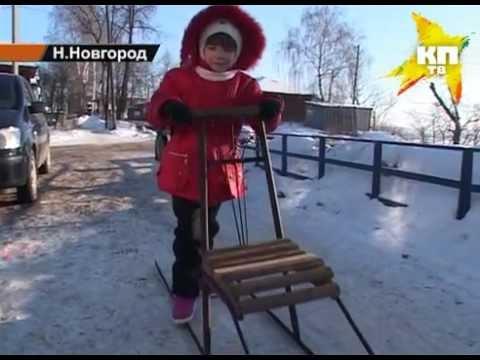сани без единого гвоздя из Приморья - YouTube