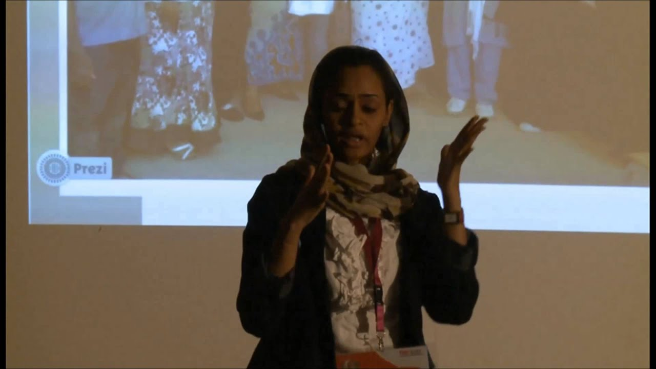 The Unheard Voice Of Deaf Mayasa Abdalah At TEDxSUST