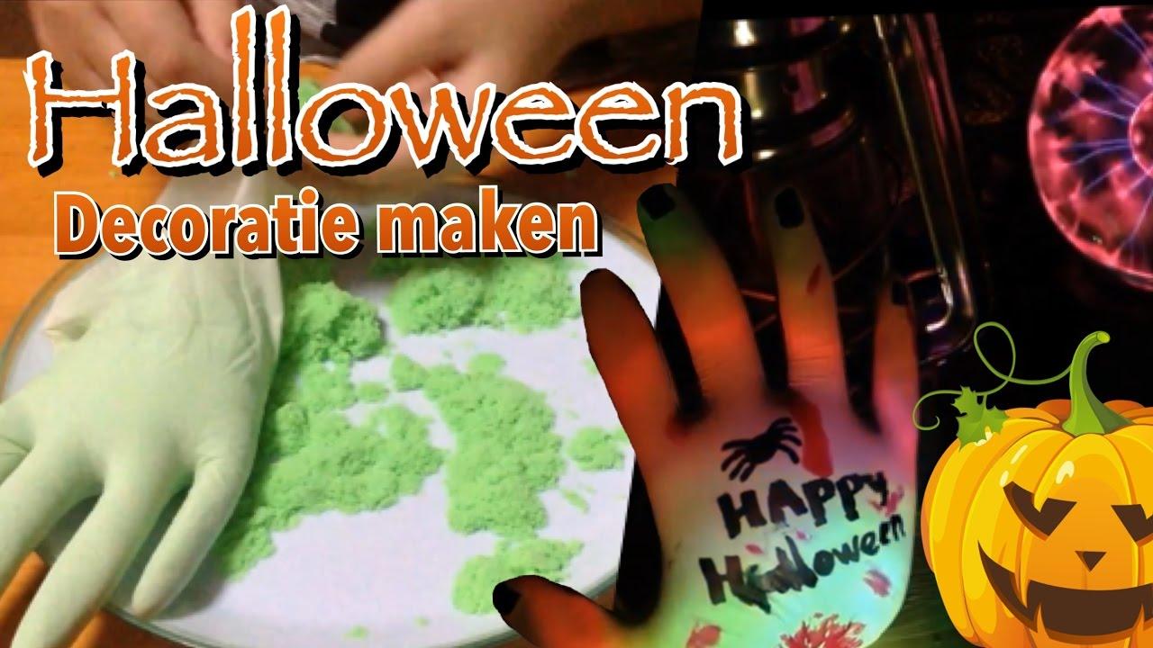 Halloween decoratie zelf maken 1 youtube for Decoratie bruiloft zelf maken
