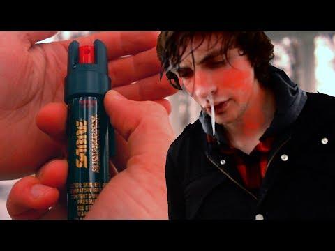 SABRE Tear Gas Pepper Spray - I Lost A Bet