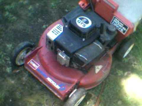 toro gts 6.0 hp lawn mower manual