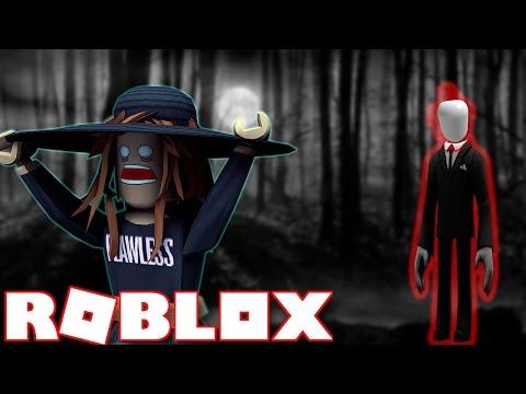 SLENDER MAN in ROBLOX