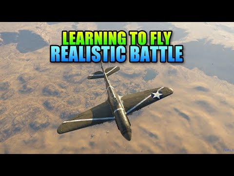 PhlyDaily Teaches Me How To Fly In War Thunder Realistic Battle