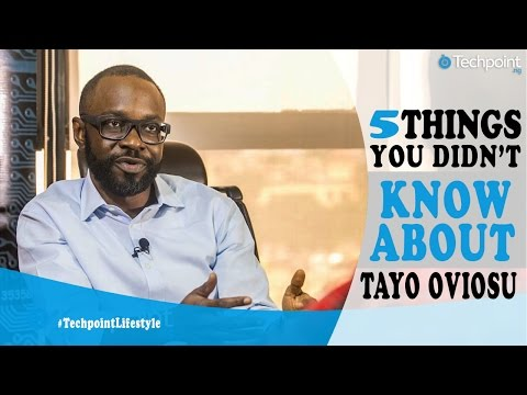 5 Things You didn't know about Tayo Oviosu of Paga