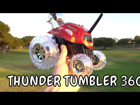 THUNDER TUMBLER Radio Control 360-Degree Rally Car