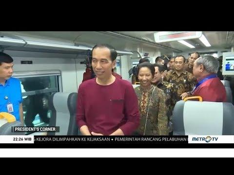 Jokowi Promosikan Industri Gerbong Kereta Karya Anak Bangsa