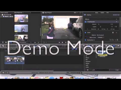 how to stop the video shaking on imovie 10.1.8