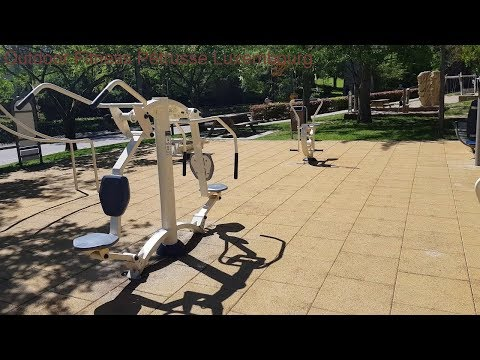Outdoor Fitness Pétrusse Luxembourg (2160p)