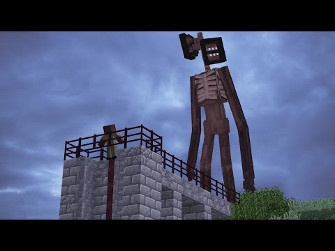 Siren Head - Film d'horreur Minecraft