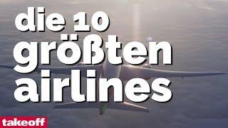 Die 10 größten Airlines 2017