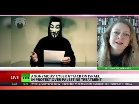Israel Hacked: Anonymous Assault Act Of Protest, Not Terror