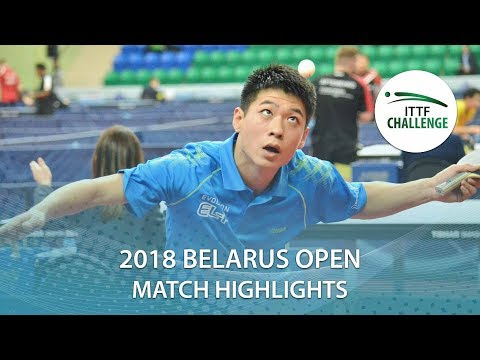 Wei Shihao vs Andrei Tsiarokhin | 2018 ITTF Challenge Belarus Open Highlights (Group)